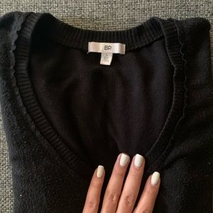 Nordstrom Sweaters - Black V Neck Sweater